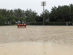 U-18 雨天中止