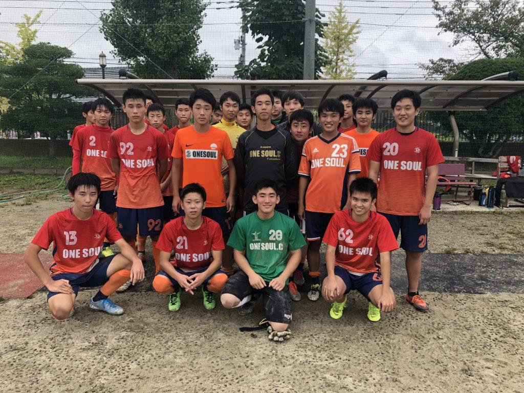 U-18後期県リーグ スケジュール