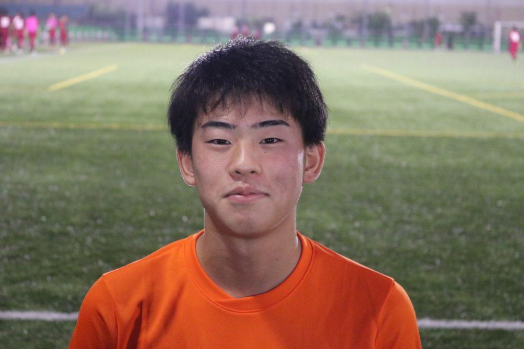 佐々木 耀浩  <br/> <br/> 4種 AMEIXA  FC <br/> 3種 多々良中央中学校