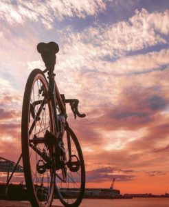 夜の自転車移動のために