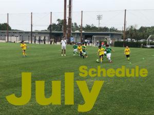 【TIPS】7月スケジュール
