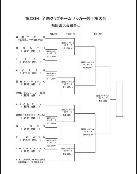 決勝進出!15:00~社会人クラブ選手権